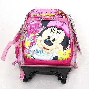 Summer Pink Mickey Trolley School Bag