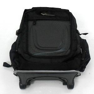 Simple Black Trolley School Bag