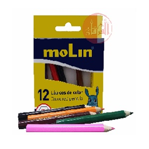 Coloured Pencils Package of 12 Pieces