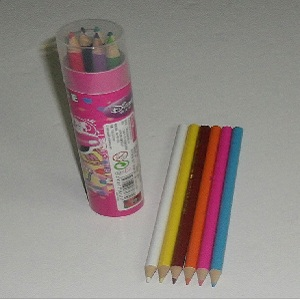 Disney Color Pencils – 12 Colors – Plastic Drum