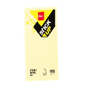 DELI Sticky Notes 100 Sheets