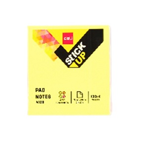 DELI Sticky Notes in 4 Neon Colo