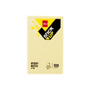 DELI Sticky Notes in Yellow